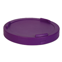 Click fit interstacking bin Lids