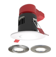 ANSELL Prism Pack FRD IP65 CCT LED Downlight