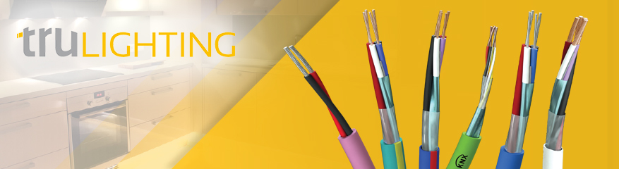 TruLighting Range of Lighting Control Cables