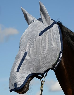 Buzz-Off 135/M Full Fly Mask Blu