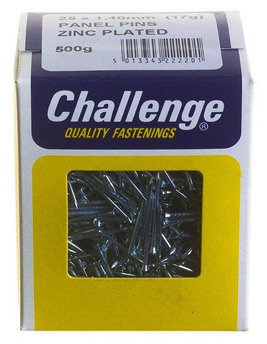 22012 1 X 500G 3/4IN B/NET PANEL PINS 20MM