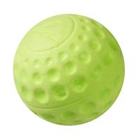 "Rogz Asteroidz Medium Ball - Lime Green 2½"" x 1"