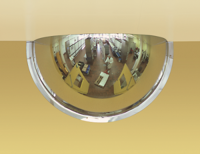 Panoramic 180 Convex Mirror