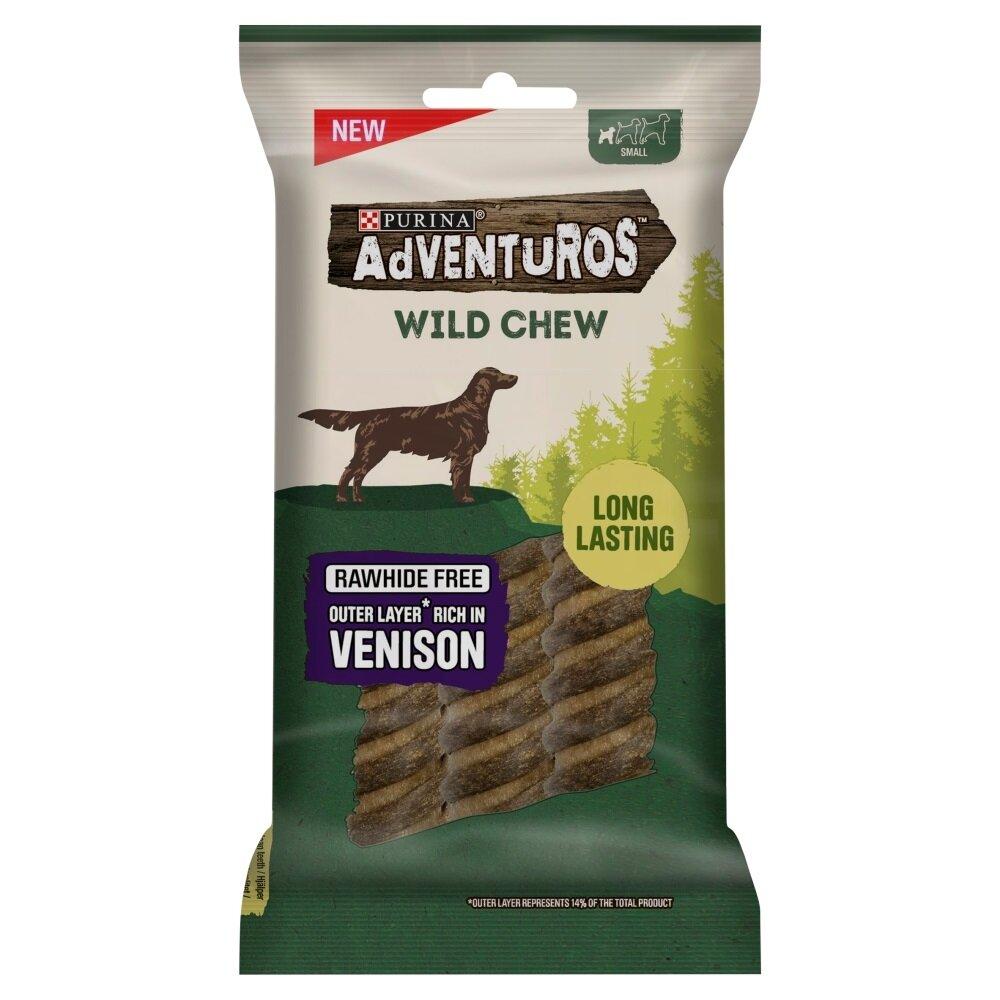 Adventuros Wild Chews Venison Small Dog 7 x 150g