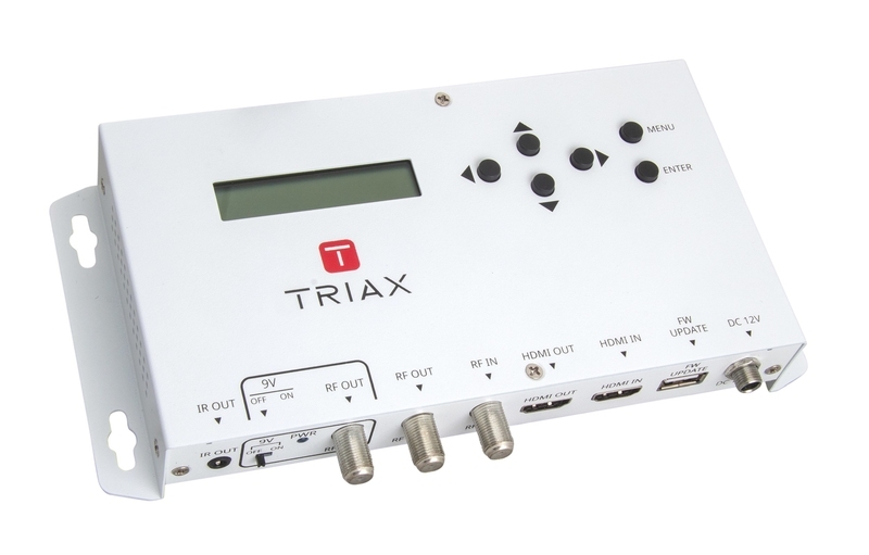 triax hdmi to cofdm dvb t modulator mod102 t 300127 cctv, tv