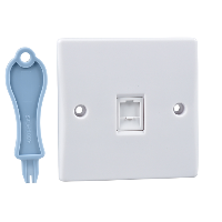 Schneider Ultimate 1Gang RJ45 Outlet IP20