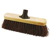 "12"" Cheap Bassine Broom Handled (WT542/H)"
