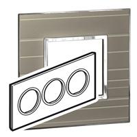 Arteor (British Standard) Plate 6 Module Round Formal | LV0501.0197