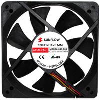 DC FAN | 120x120x25mm 24VDC