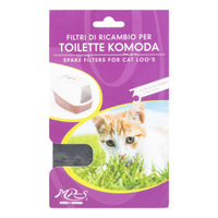 Lazy Bones Komoda Hooded Cat Loo Replacement Filer 3-Pack x 1