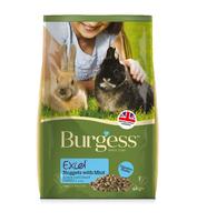 Burgess Excel Rabbit Junior & Dwarf 4kg [Zero VAT]