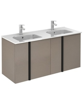 SONAS AVILA 120CM WALL HUNG VANITY UNIT SMOKEY GREY W1210MM X D460MM