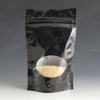 150g High gloss stand up pouch with window.