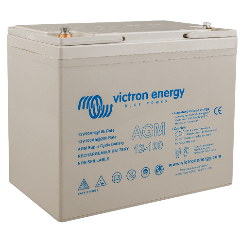 BATTERY VICTRON AGM D. CYCLE 100 AH