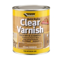 Everbuild Clear Varnish Gloss 750ml