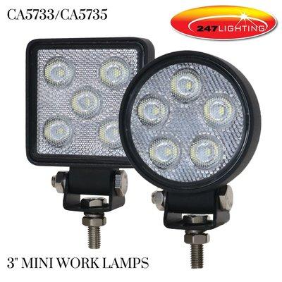 CA5733/CA5735 Mini Work Lamps