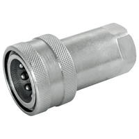 Hydraulic ISOA Quick Release Coupler