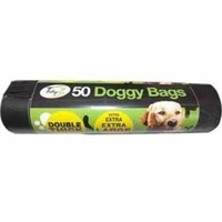 Tidy Z Doggy Poop Bags - Roll of 50 Extra Thick & Extra Large x 1
