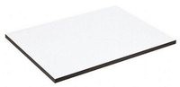 A1 Flat White Melamine Drawing Board