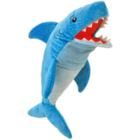 Shark hand puppet - you can move his mouth
