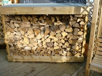 HEAVY DUTY LOG STORE