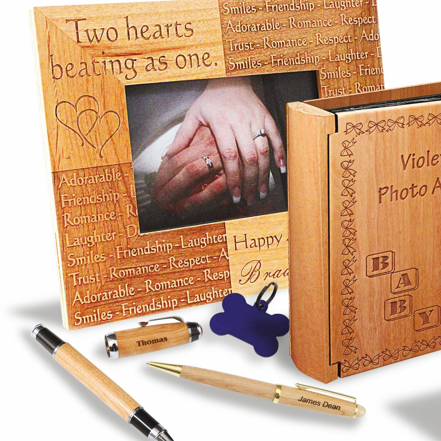 Laserable Wood Products