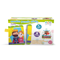Puzzle Sticks Castle