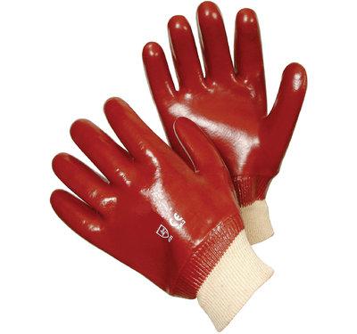 REDBACK PVC Knitted Wrist Glove (Pair)