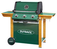 Outback Ranger 3 Burner Gas Barbecue
