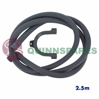 Universal 90 Degree Drain Outlet Hose & Hook (Length: 2.5M / Fitting: 19 & 22Mm)