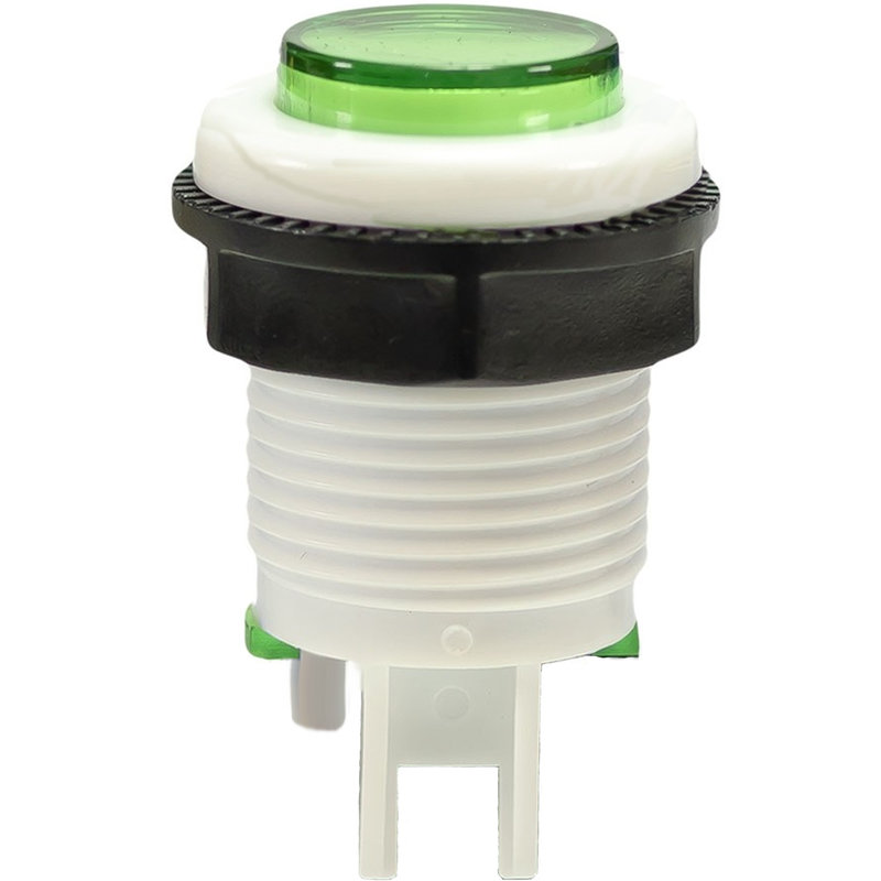 Push Button Game Switch Green