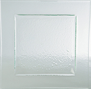 Gobi Plate Square Clear 260mm Carton of 6