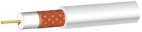 PF100 COAX CABLE WHITE