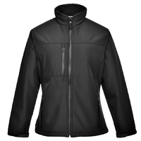 Portwest Charlotte Softshell Jacket Black