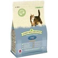 James Wellbeloved Cat Light - Turkey & Rice 1.5kg x 1