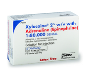 DENTSPLY - XYLOCAINE 2% WITH ADRENALINE 1:80,000