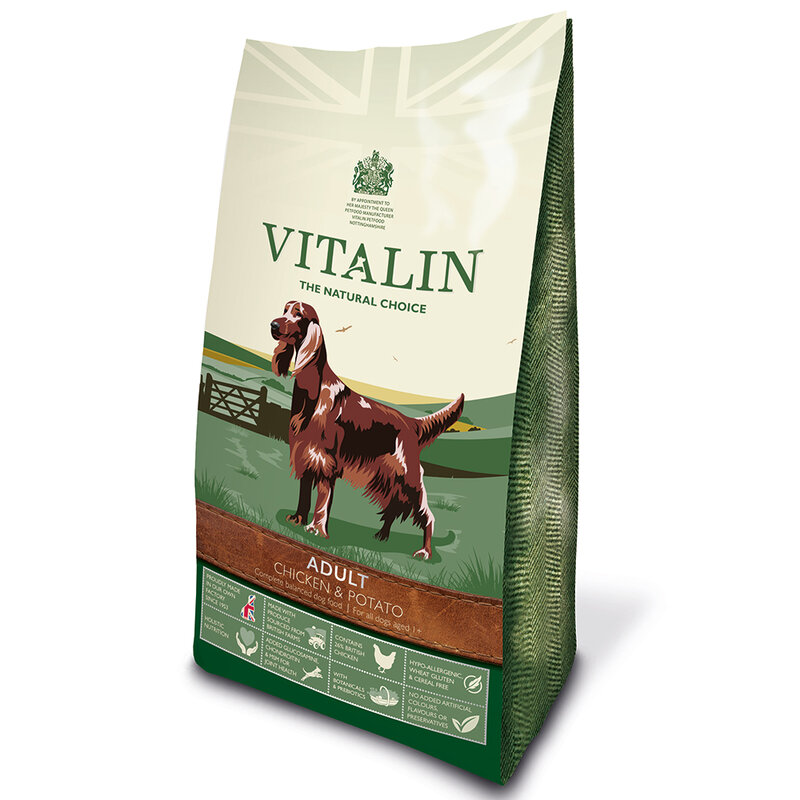 Vitalin Adult Grain Free Chicken & Potato 12kg