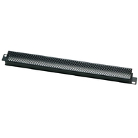 Euromet 02014 | Security rack cover, 1U, punched, Black