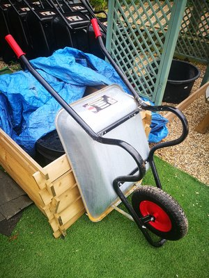 Haemmerlin Galvanised Wheel barrow 85ltr
