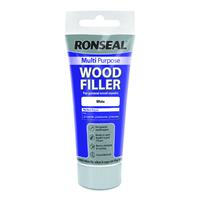 Ronseal Multi Purpose Wood Filler Tube 100g White