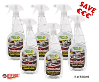 Terminator Antibacterial Cleaner 6x750ml spec