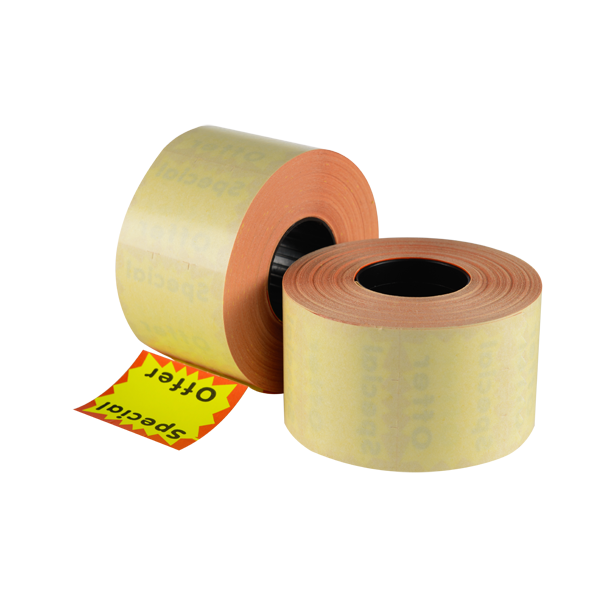 LYNX CT15 37x28mm Removable Labels 'Special Offer' - Yellow Square (Box 17.5k)