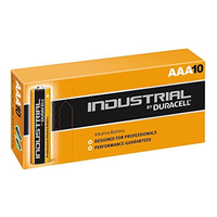 Duracell AAA 10 Pack Industrial