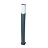JUPITER 7W IP54 WARM WHITE LED BOLLARD 800mm GREY | LV2107.0217