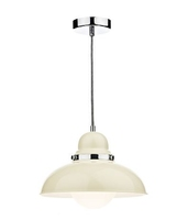 Dynamo 1 Light Pendant, Cream | LV1802.0060