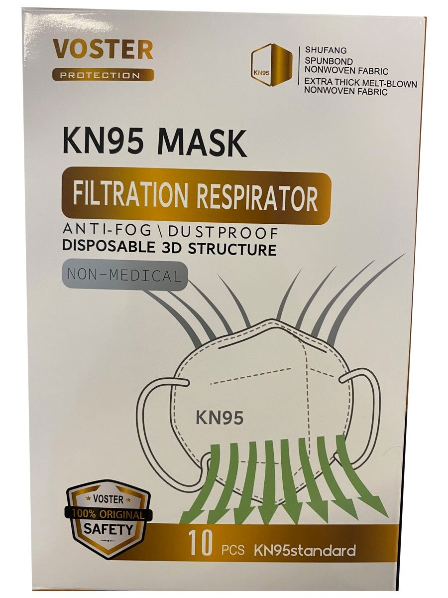 DMI KN95 Face Mask (FFP2) - Pk10