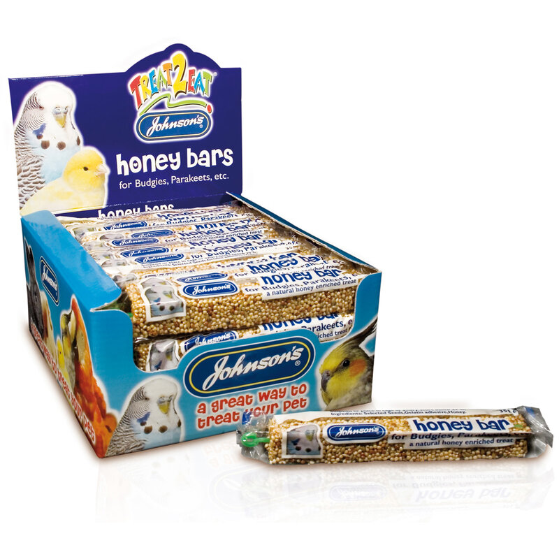 JVP Budgie Honey Bars x 40