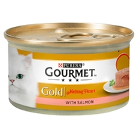 Gourmet Gold Cat Can Melting Heart Salmon 85g x 12