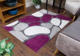 Pebbles Grey/Purple