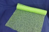 SIZO LACE 30cm x 5m LIME GREEN